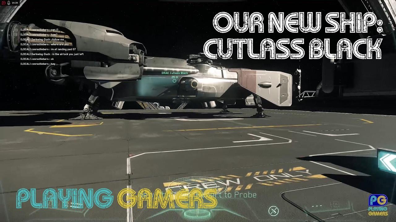 Download Star Citizen - Our New Ship - Cutlass Black