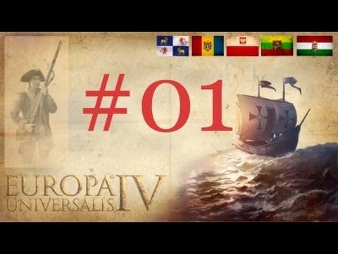 CZ Europa Universalis IV (+6 Expansions) Pt.1 - Polsko