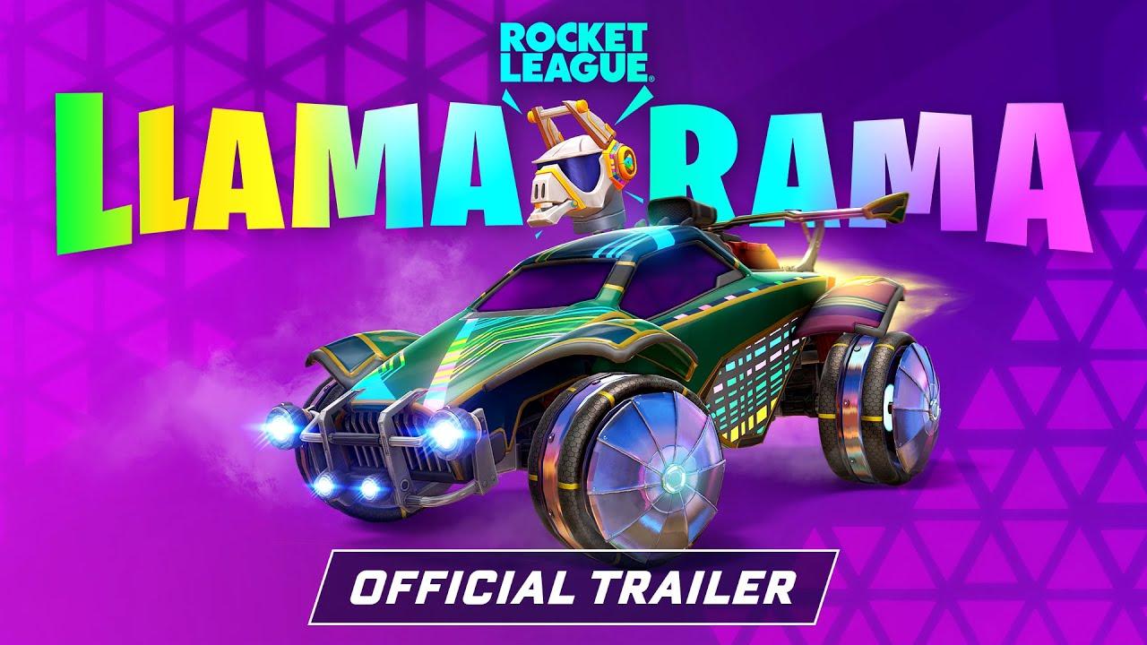 Rocket League® - Llama-Rama 2021 Trailer