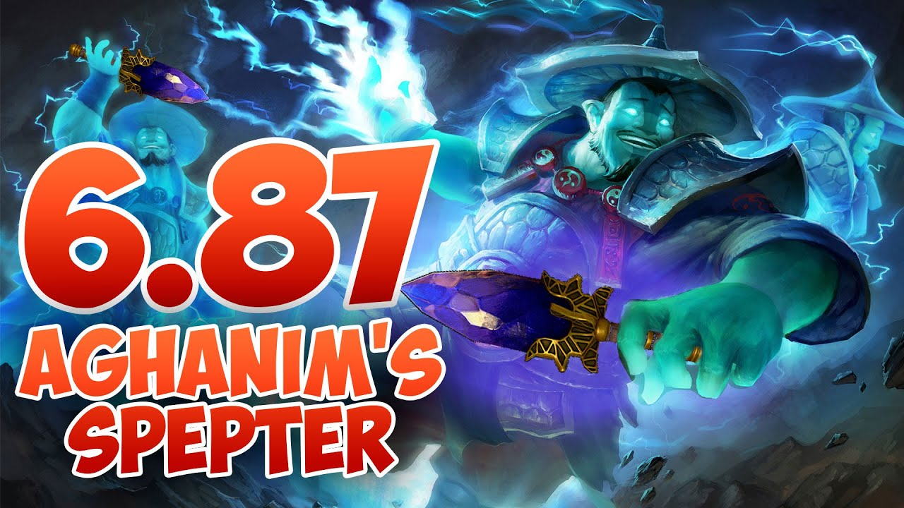 6.87 Dota 2 Patch - Aghanim's Scepter!