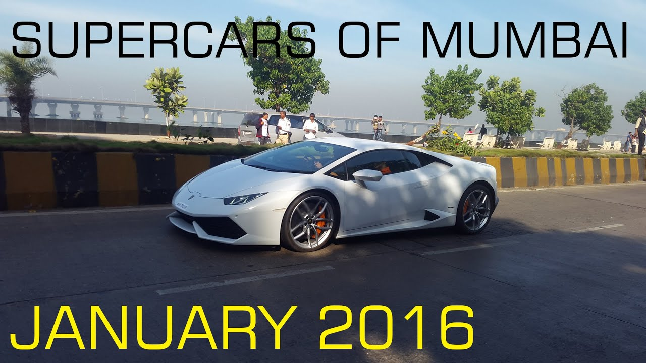 Supercars In Mumbai January Republic Day Special Youtube