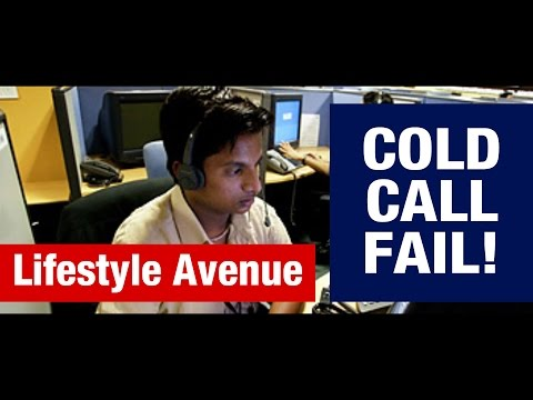 COLD CALL FAIL: Survey gone wrong ! Funny !