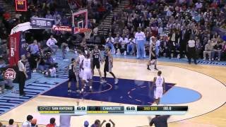 San Antonio Spurs vs Charlotte Bobcats | February 8, 2014 | NBA 2013-14 Season