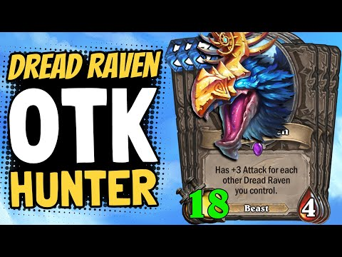 108 DAMAGE OTK COMBO!? Can I Pull Off The Dread Raven OTK? | Descent Of Dragons | Hearthstone