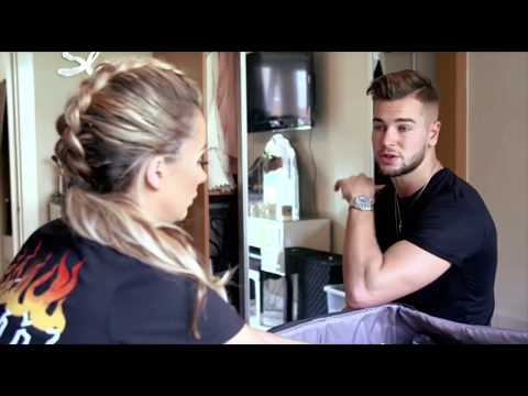 Chris and Kem Straight Outta Love Island- Olivia and Chris Pack for LA