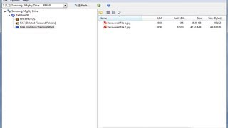 Recover deleted files and folders from a FAT formatted disk (Undelete FAT)