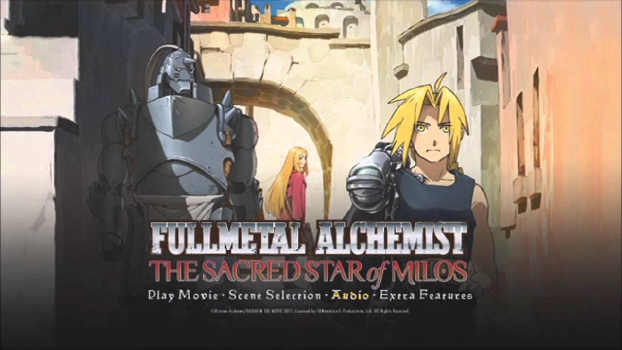 Fullmetal Alchemist: The Sacred Star of Milos OST: Menu ...