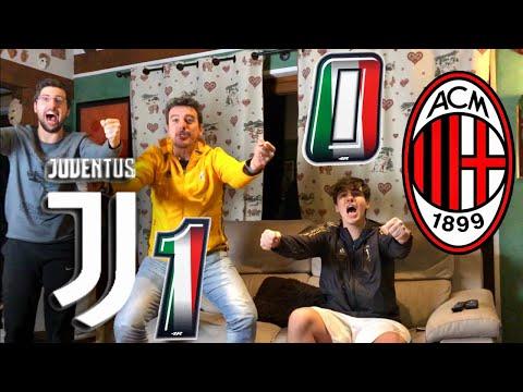 🇮🇹 JUVENTUS 1-0 MILAN | LIVE REACTION *ASSURDA* dei TIFOSI JUVENTINI al GOL di RONALDO HD!! 🏆