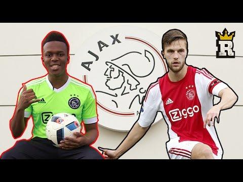 KSI - AJAX CROSSBAR CHALLENGE w Joël Veltman | Rule'm Sports