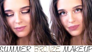 ЛЕТНИЙ БРОНЗОВЫЙ МАКИЯЖ✨ Summer Bronze Makeup
