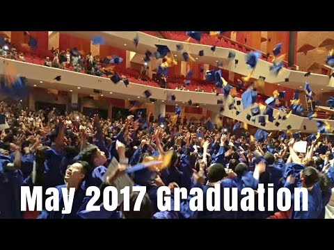 May 2017 Graduation Ceremony Live Streaming