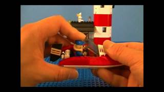 Lego 4641 Review Speed Boat City Harbour
