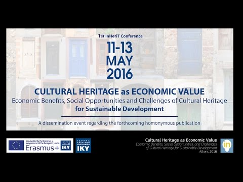 Stavroula-Villy Fotopoulou (HMoCaS) - Session 3 - 1st InHeriT International Conference Athens 2016