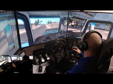 ATS truck sim live stream with dad