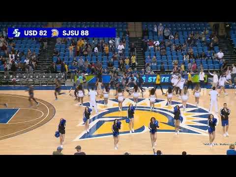 USD At San Jose State Women's Basketball 11-23-19