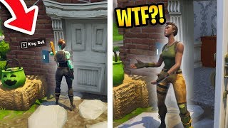 DING-DONG DITCH PRANK! *HILARIOUS!* | Fortnite Funniest Fails
