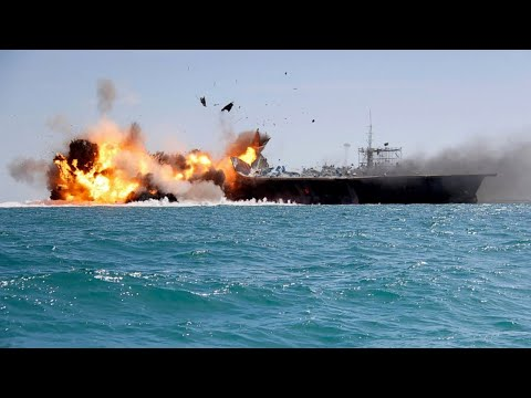 Accidentally Blowing Up A Fake US Aircraft Carrier