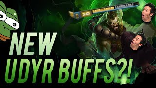 NEW SECRET UDYR BUFF!! | JUNGLE AP FLAMEDYR | NEW UDYR BUFFS - Trick2G