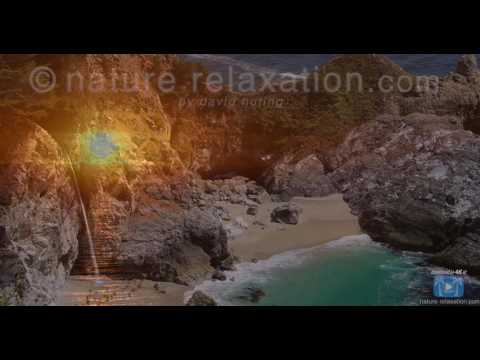 Emarovideo.BIG SUR IN 4K   I Can See The Light  Nature Relaxa   2K HD