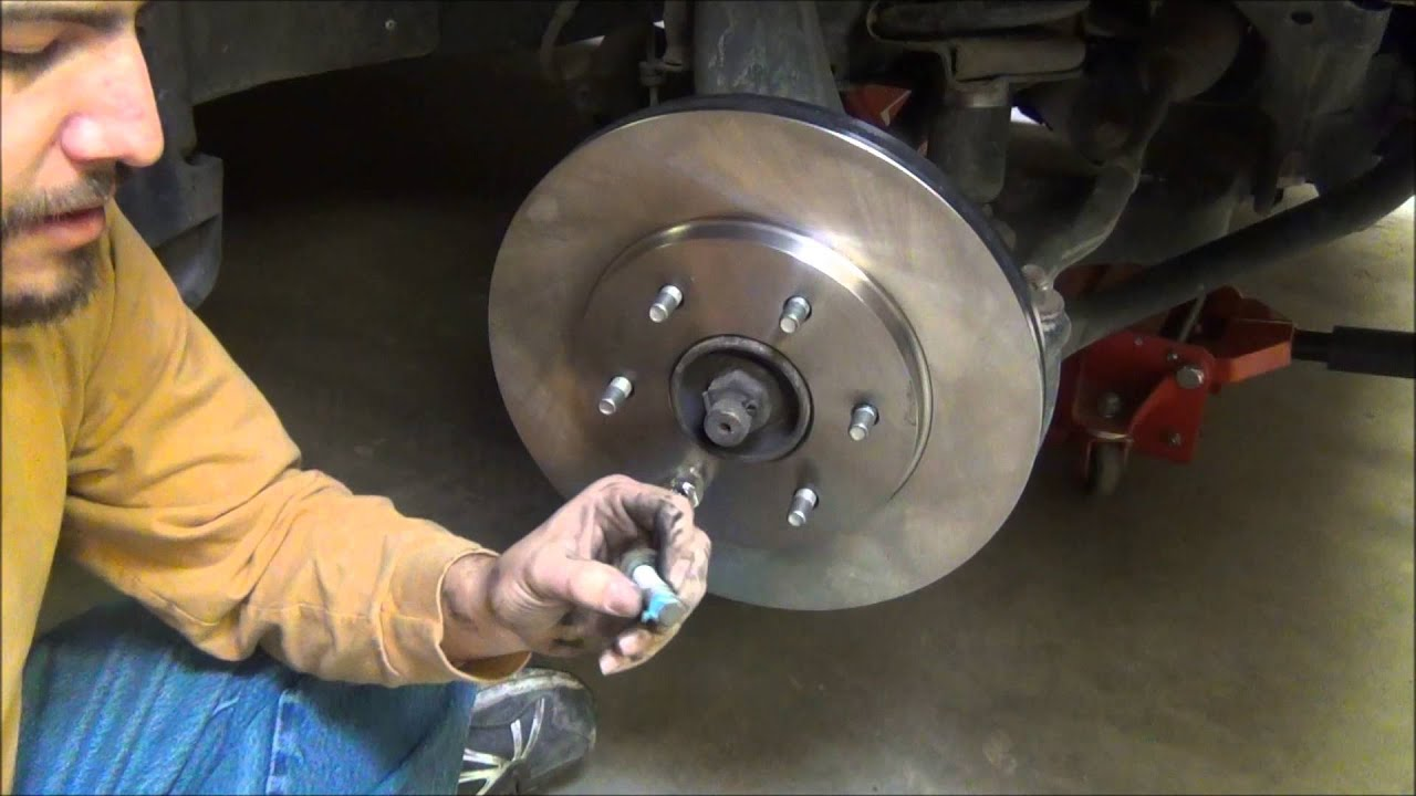 The Average Guys Garage: How to change the front brakes on ...