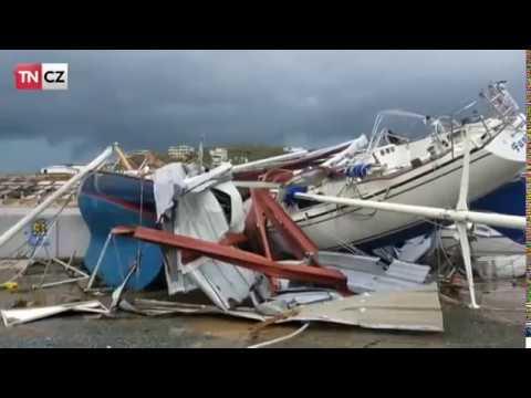 Hurikán Irma zdevastoval Karibik a teď ničí Floridu!