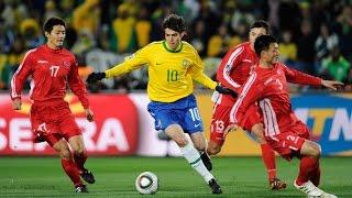 ברזיל -  צפון קוריאה, מונדיאל 2010 שלב הבתים סיבוב 1 - תקציר המשחק