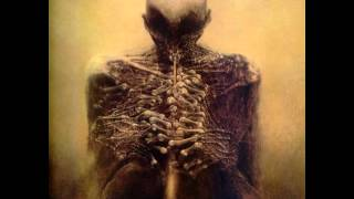Macabre 2013 version, from THE UNRAVELING. Art by Zdzislaw Beksinsk...