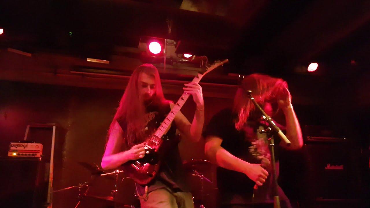 Guitar showcases : Demilich live footage ft. Phil Tougas