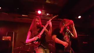 Demilich ft. Phil Tougas - The Putrefying Road... (Live in Helsinki, Finland)