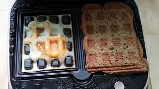 벤소닉 와플메이커로 계란후라이랑 토스트 해먹기  #벤…