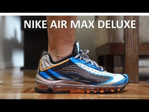 promo code aba45 a7335 Review On-Feet - Nike Air Max Deluxe