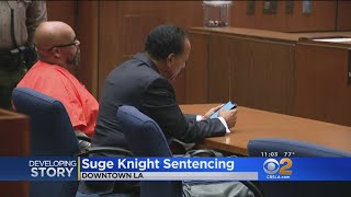 Suge Knight Sentenced To 28 Years In Prison For Manslaughter