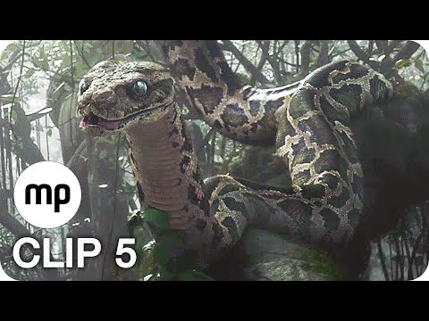 DISNEY'S THE JUNGLE BOOK Film Clip 5: Kaa (2016)