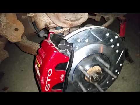 c5 corvette disc brake swap 67 tempest gto chevelle nova camaro firebird