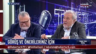 Teke Tek Özel - 12 Kasım 2017 (Prof. Dr. İlber Ortaylı, Prof. Dr. Celal Şengör)
