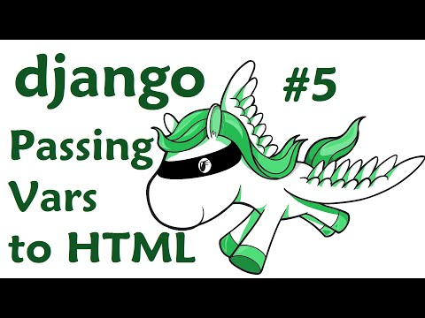Passing variables from python to html - Django Web Developme