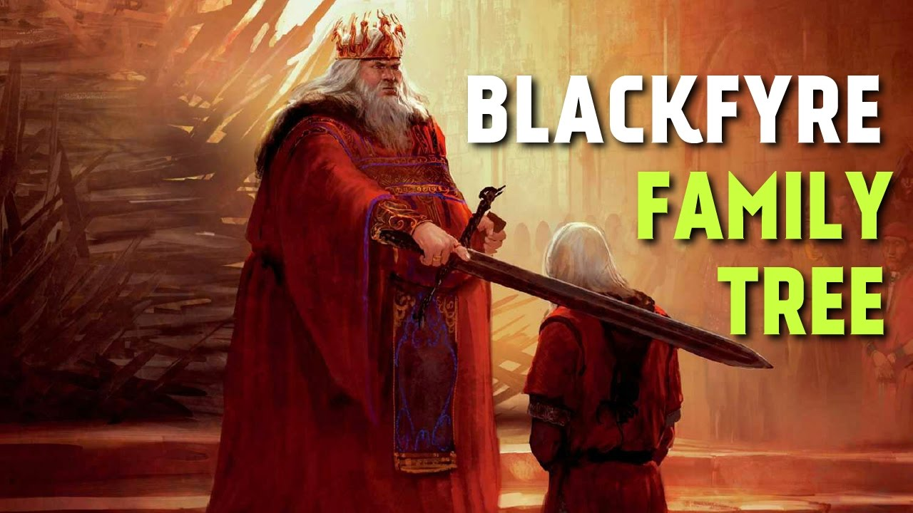 blackfyre family tree  extinct targaryen branch  game of