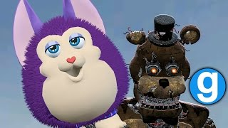 TATTLETAIL ENTITY IN GARRY'S MOD & NIGHTMARE FREDDY! | Five Nights at Freddy's Gmod (Sandbox)