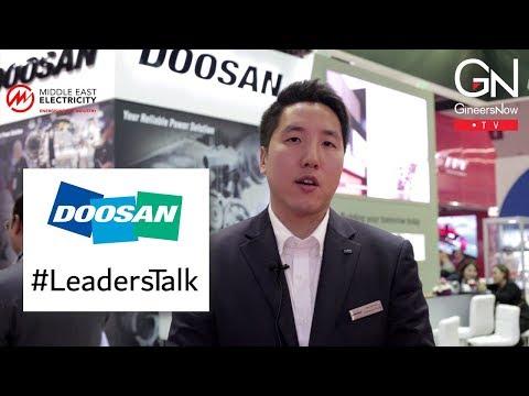 #LeadersTalk with Doosan Infracore