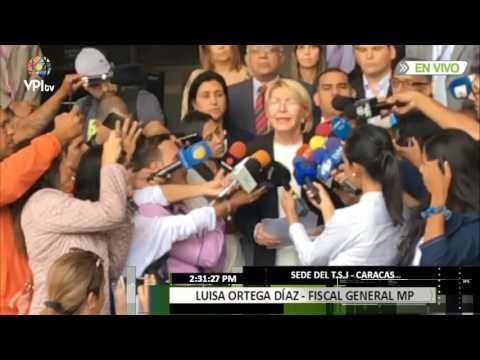 Fiscal Ortega Díaz pide nulidad de decisiones del CNE sobre la Constituyente #LoMásVistoVPITV