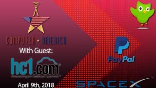 hc1 Interview, PayPal New Products, SpaceX Findings, And More!