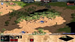 AOE Việt Trung 2015  Chung Ket Solo Assyrian, Chim Sẻ Đi Nắng vs ShenLong Ngày 14 11 2015 Trận 4