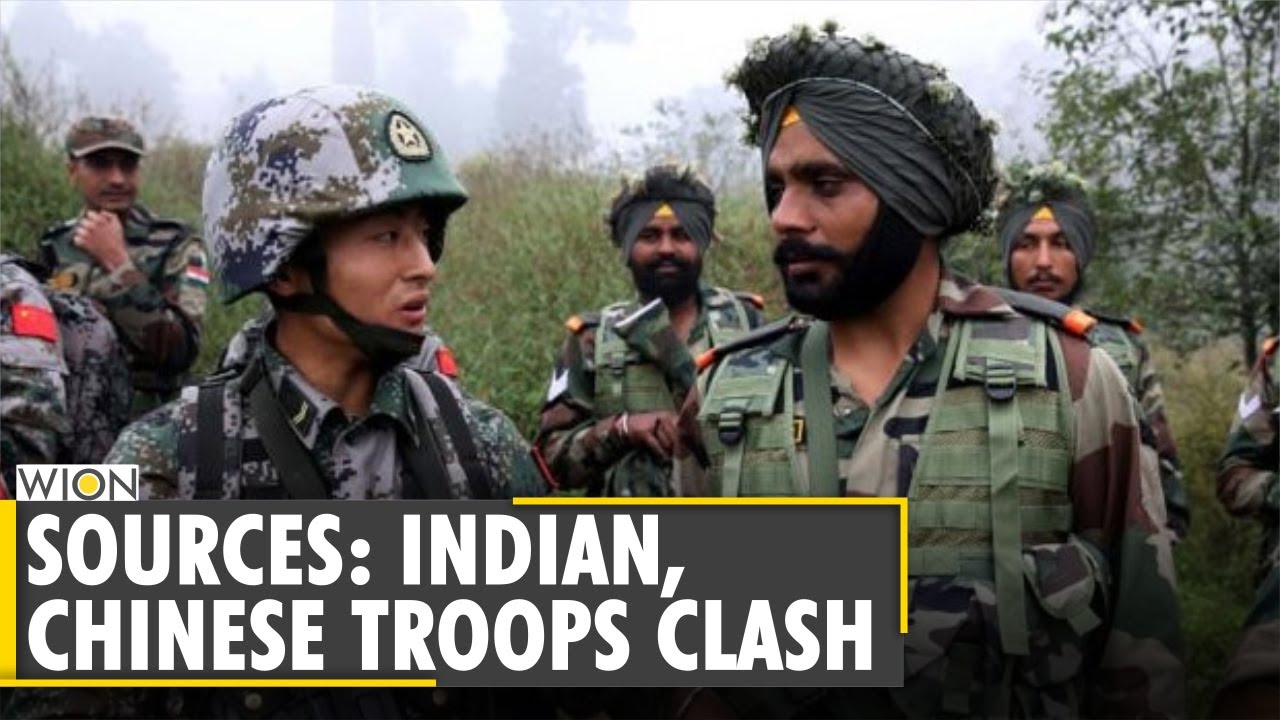 Download Clashes between Indian and Chinese troops at Naku La near Sikkim border | World News
