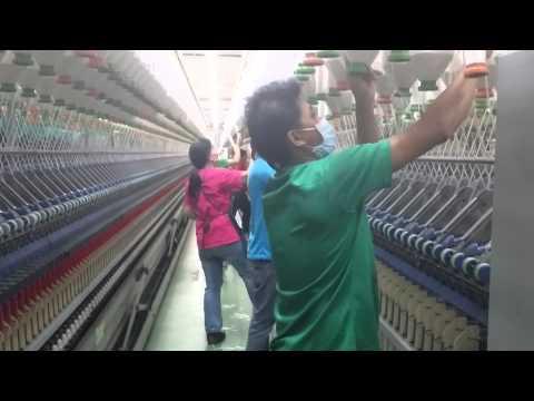 pekerjaanku di pabrik textil nien shin taiwan 2015