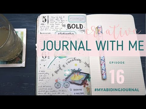 CREATIVE JOURNALING SESSION // Journal With Me 16 // Thoughts on Journaling and Creative Expression