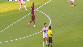 ملخص وأهداف مباراة الزمالك وبيراميدز 0 - 1 بتاريخ 23/7/2020