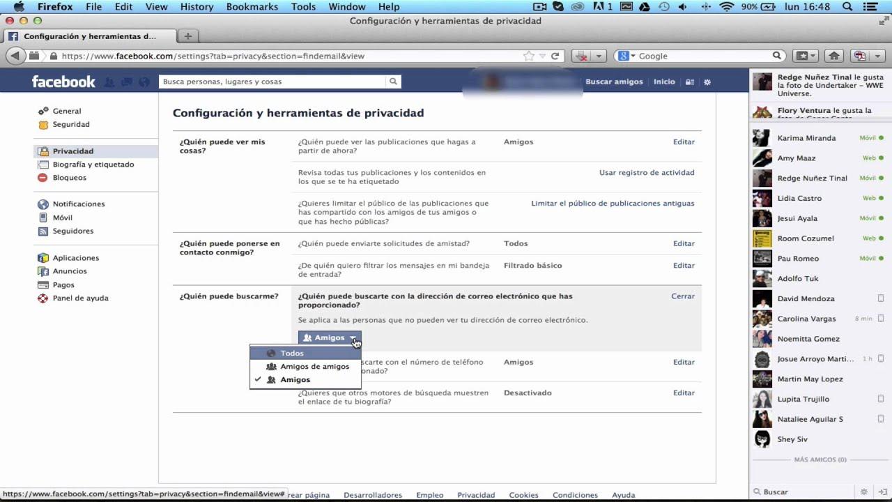Configurar privacidad mis fotos nuevo facebook 76