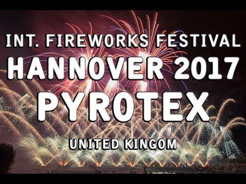 Int. Fireworks Festival Hannover 2017 - Pyrotex - United Kingdom - Feuerwerk - Großbritannien