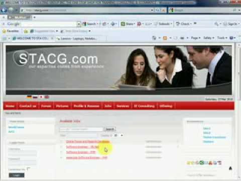 Oracle Jobs - STACG.com