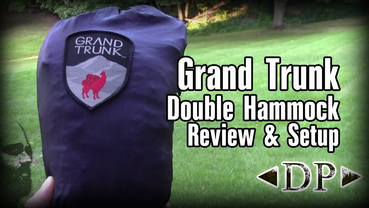 Grand Trunk Double Hammock Review And Setup Youtube